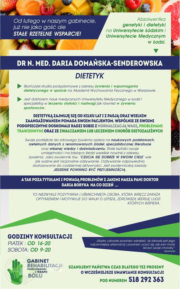 Daria Domańska-Senderowska